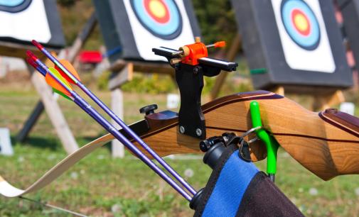 Il tiro con l'arco a Moletolo il 9 maggio 2015