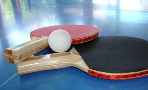 Recupero gara amatoriale di Tennistavolo